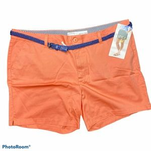Lee Riders Women's Mid Rise Shorts Size 20 Coral
